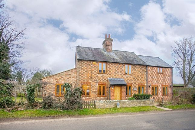 Thumbnail Detached house for sale in Water Stratford Road, Tingewick, Buckingham