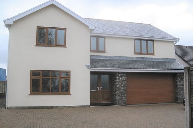 Thumbnail Detached house to rent in Station Road, Coelbren, Neath.