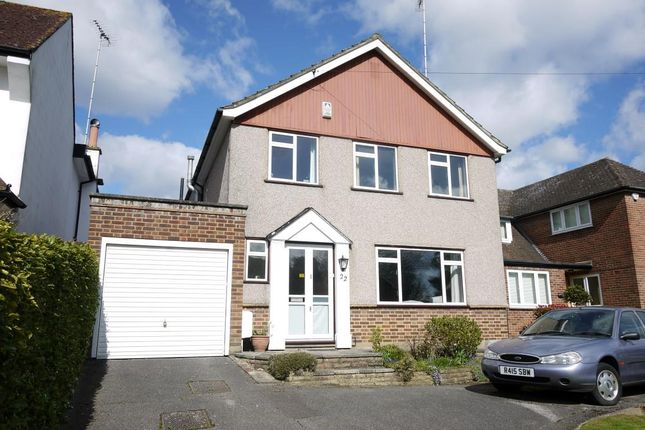 Thumbnail Detached house to rent in Tolmers Avenue, Cuffley, Potters Bar