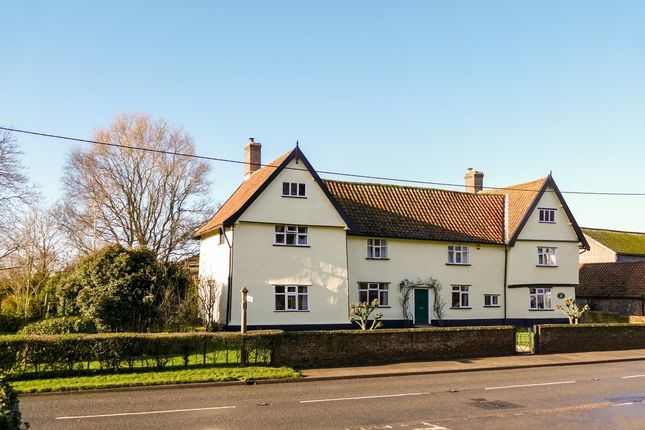 Thumbnail Farmhouse for sale in The Street, Winfarthing, Diss