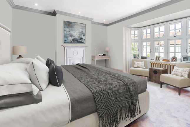 CGI - Bedroom of Frewin Road, London SW18