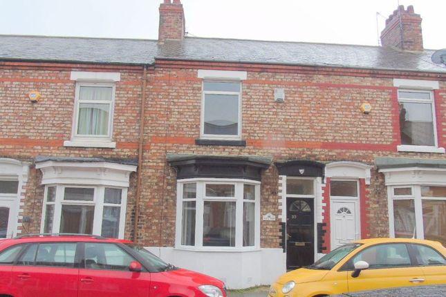 Thumbnail Terraced house for sale in Kensington Road, Stockton-On-Tees
