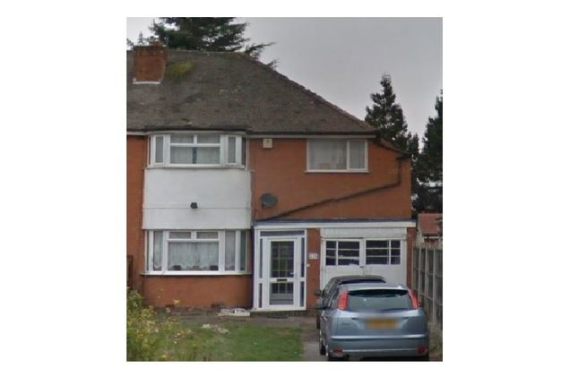 Thumbnail Semi-detached house to rent in Shirley Road, Acocks Green, Birmingham