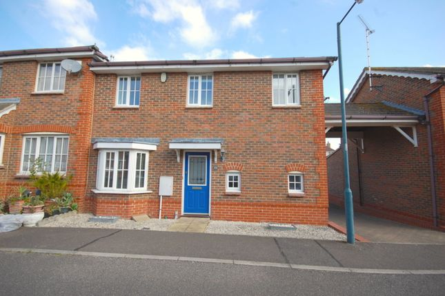 Thumbnail End terrace house for sale in Silvester Way, Chancellor Park, Chelmsford