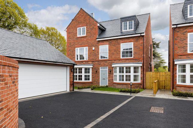 Thumbnail Detached house for sale in Greenridge Court, School Lane, Sandiway, Northwich