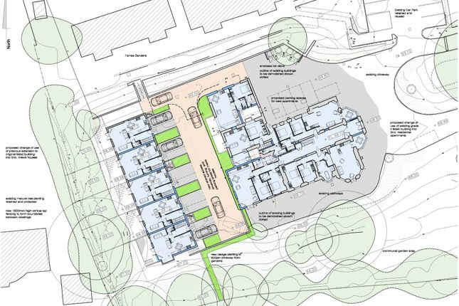 Thumbnail Land for sale in Residential Redevelopment To Create 14 Dwellings, South Lea, Northam, Bideford