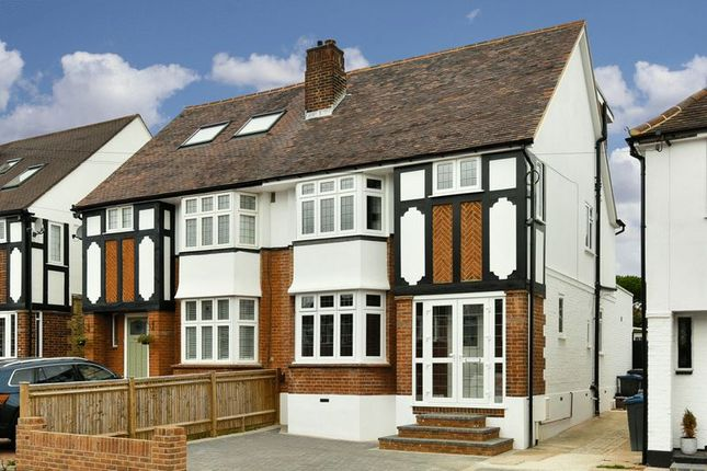 Thumbnail Semi-detached house to rent in Pembroke Avenue, Berrylands, Surbiton