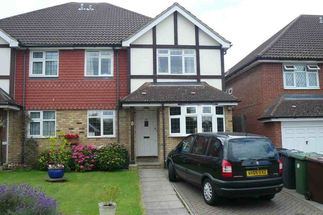 Thumbnail Semi-detached house to rent in The Birches, Bushey