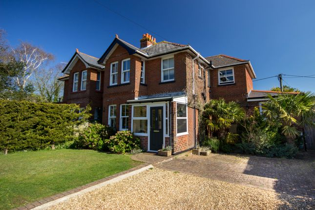 Thumbnail Semi-detached house for sale in Alverstone Road, Apse Heath, Sandown