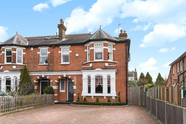 Thumbnail Semi-detached house for sale in High Road, Buckhurst Hill, Essex