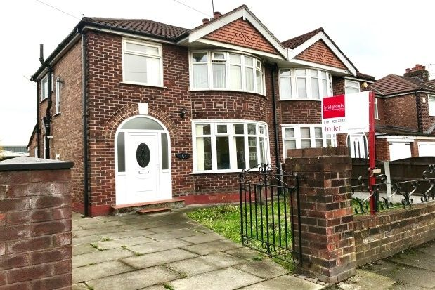 Thumbnail Terraced house to rent in Norwich Road, Stretford, Manchester