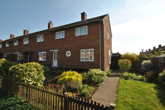 Thumbnail End terrace house to rent in Lindencroft, Letchworth Garden City