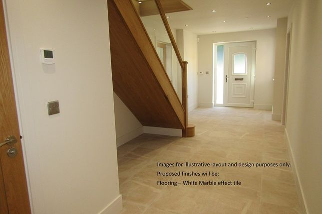 Entrance Area of Plot 2 The Willows, Bryn Road, Loughor, Swansea, City And County Of Swansea. SA4