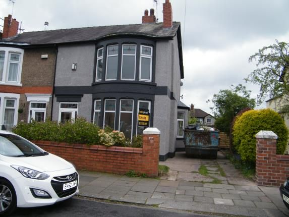 Thumbnail Semi-detached house for sale in Gainsborough Road, Crewe, Cheshire