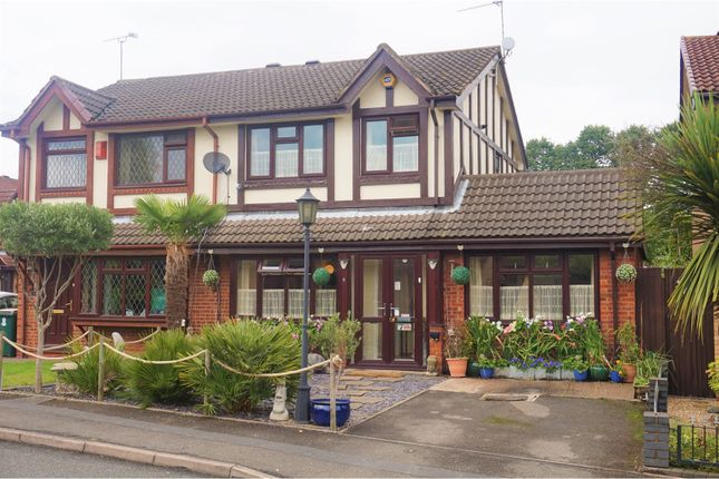Thumbnail Semi-detached house for sale in Glenmount Ave, Coventry