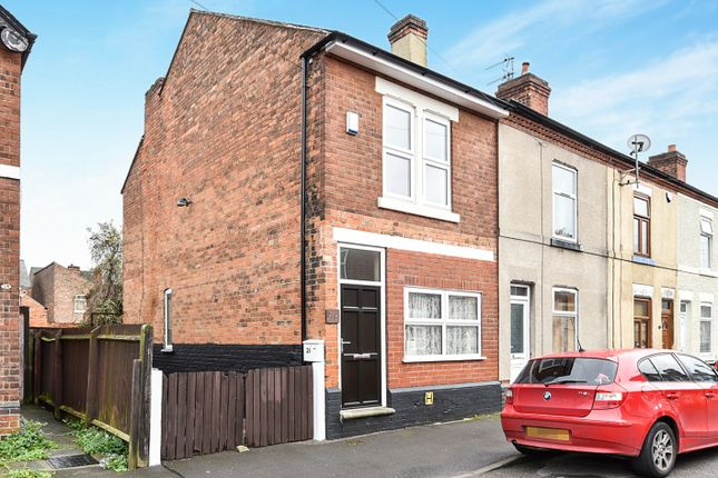 Thumbnail End terrace house for sale in Commerce Street, Alvaston, Derby