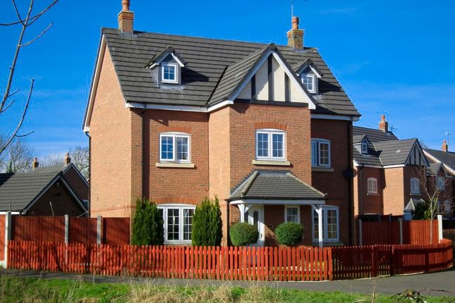 Thumbnail Detached house to rent in Williamson Drive, Nantwich