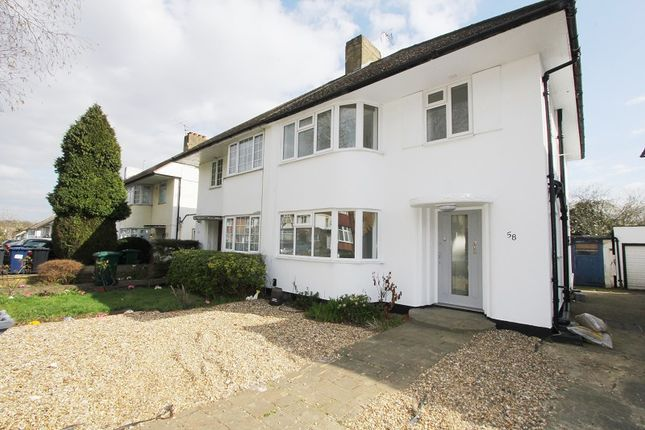 Thumbnail Semi-detached house to rent in St Margarets Road, Edgware, Middx.
