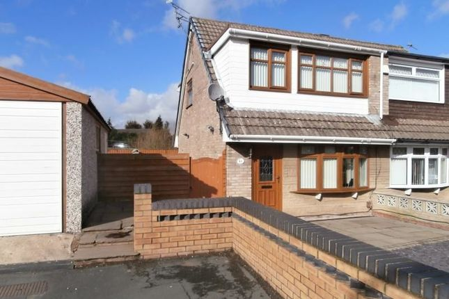 Thumbnail Semi-detached house for sale in Dale Crescent, St. Helens