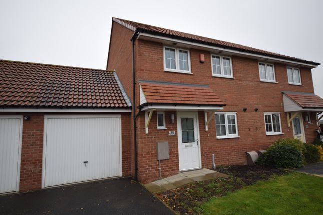 Thumbnail Semi-detached house to rent in Manor Farm Court, Finningley, Doncaster, S Yorks