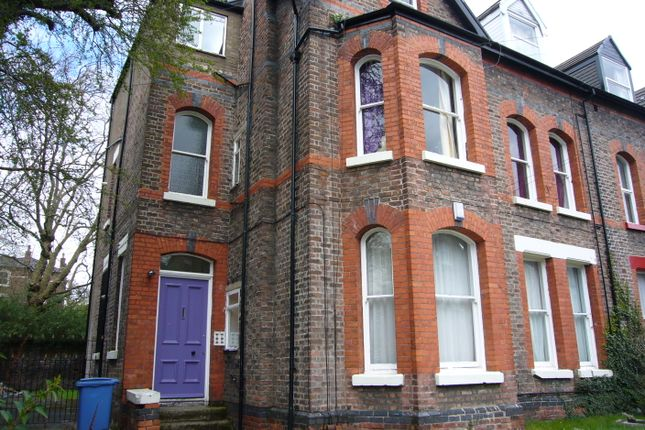 Thumbnail Flat to rent in Croxteth Grove, Liverpool