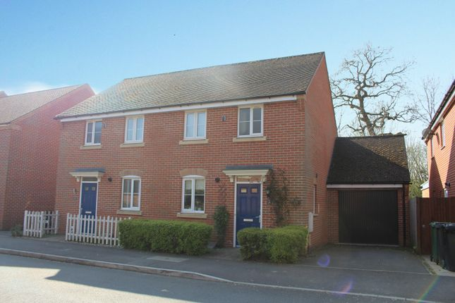Thumbnail Semi-detached house for sale in Chilworth Way, Hook, Hampshire