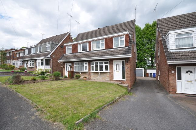 Thumbnail Semi-detached house to rent in Newfield Road, Burton-On-Trent