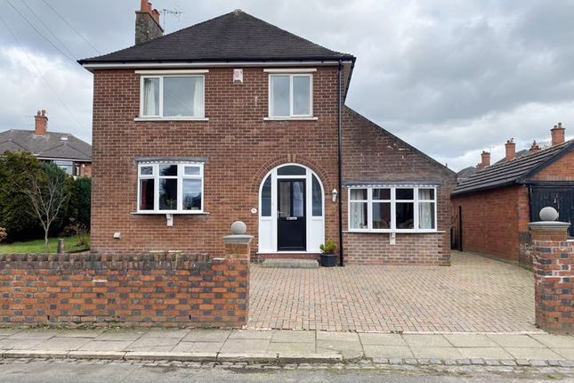 Thumbnail Detached house for sale in Roxburghe Avenue, Longton, Stoke-On-Trent, Staffordshire