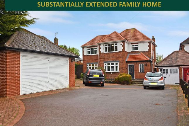 Thumbnail Detached house for sale in Station Lane, Scraptoft, Leicester