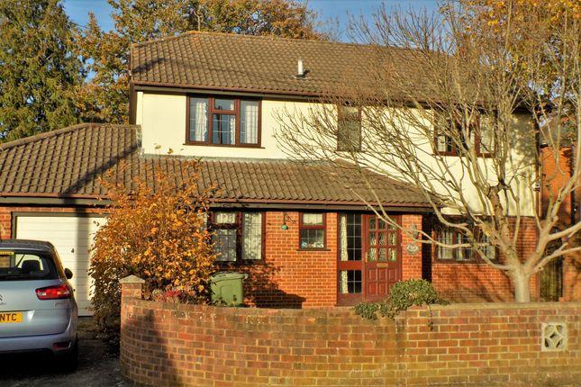 Thumbnail Detached house for sale in Firacre Road, Ash Vale, Aldershot