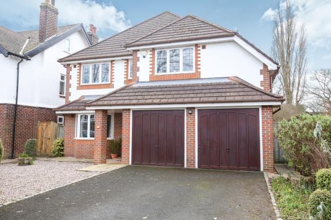 Thumbnail Detached house for sale in Lynton Park Road, Cheadle Hulme, Cheshire, .