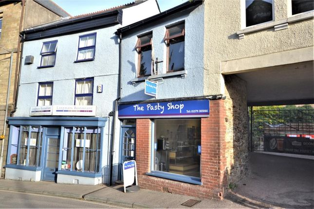 Thumbnail Commercial property for sale in Church Street, Callington, Cornwall