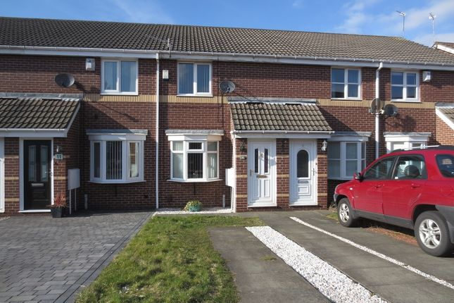 Thumbnail Terraced house for sale in Broad Meadows, Newcastle Upon Tyne, Tyne And Wear.