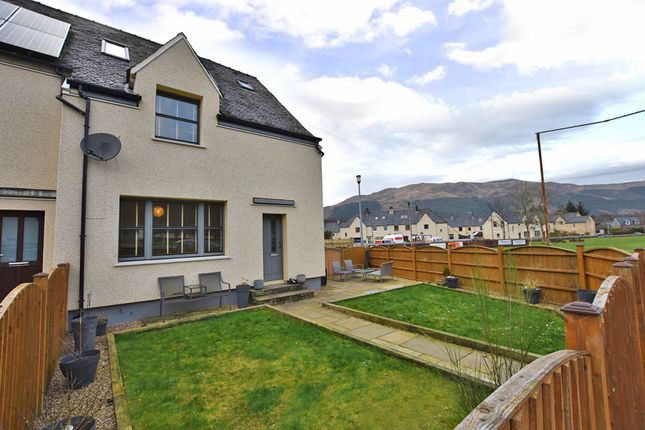 Thumbnail End terrace house for sale in Park Road, Ballachulish