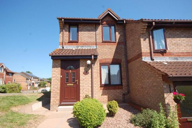Thumbnail End terrace house to rent in Rushforth Place, Exwick, Exeter