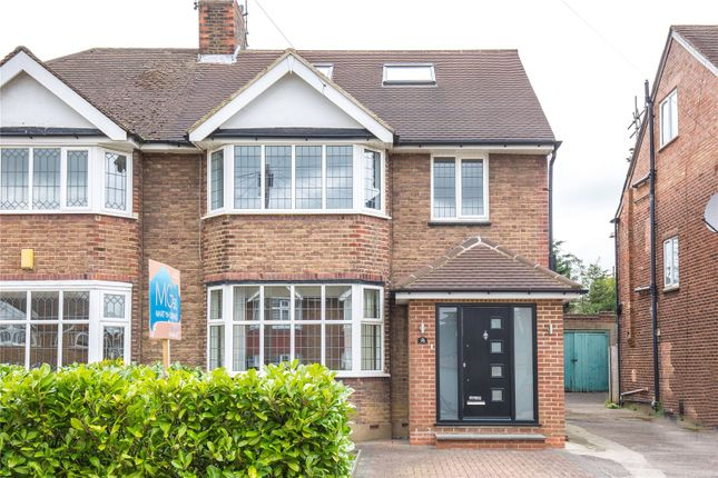 Thumbnail Semi-detached house for sale in Cissbury Ring South, Woodside Park, London