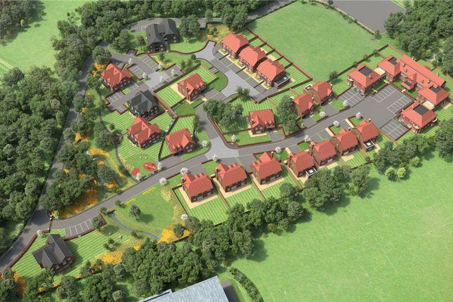 Thumbnail Flat for sale in Marjoribanks Close, Squires Park, Bushey, Hertfordshire