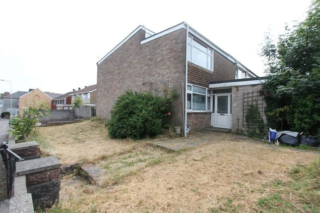 Thumbnail Semi-detached house for sale in Blackwell Close, Barry