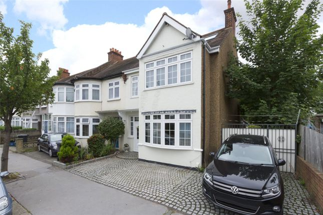 Thumbnail End terrace house for sale in Fernhurst Road, Addiscombe, Croydon