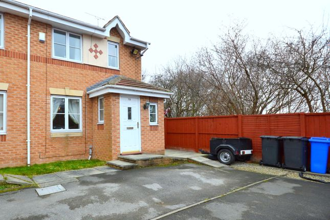 Thumbnail End terrace house for sale in Myrtle Springs Drive, Sheffield