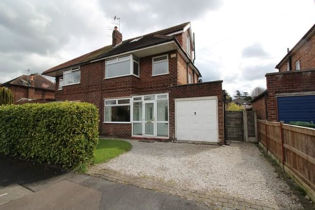 Thumbnail Semi-detached house to rent in Mayfield Road, Timperley, Altrincham