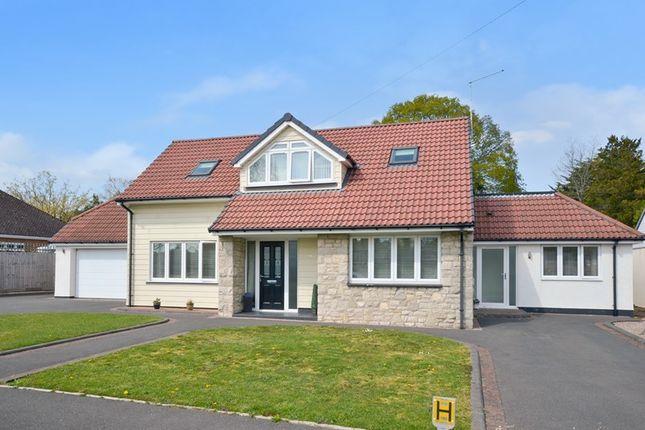Thumbnail Detached house for sale in Wimborne Road East, Ferndown, Dorset