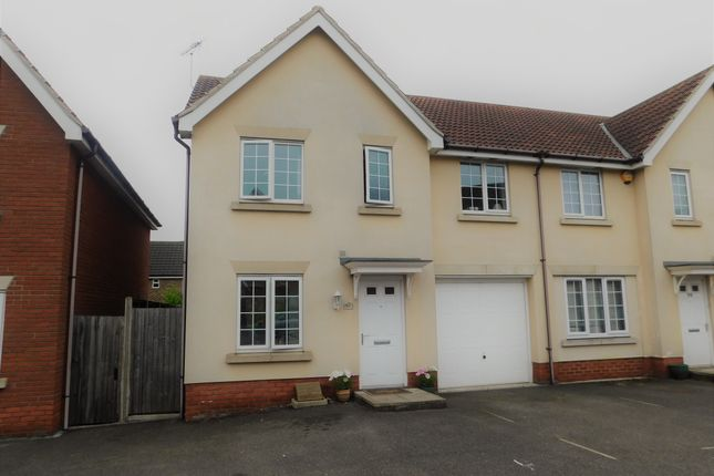 Thumbnail Semi-detached house to rent in Manning Road, Bury St. Edmunds
