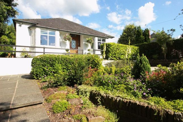 Thumbnail Bungalow for sale in Congleton Road, Biddulph, Staffordshire