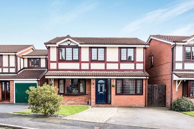 Thumbnail Detached house for sale in Ryebank Road, Ketley Bank, Telford