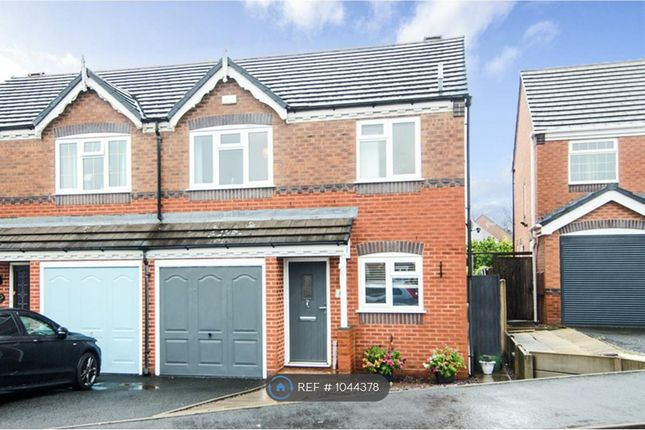 3 bed semi-detached house to rent in Hodson Way, Cannock WS11