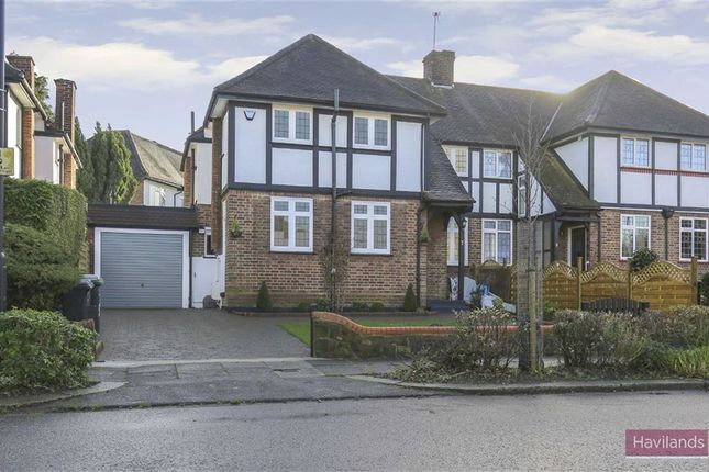 Thumbnail Semi-detached house for sale in Greenway, Southgate, London