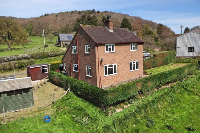 Thumbnail Detached house for sale in Aberhafesp, Newtown, Powys
