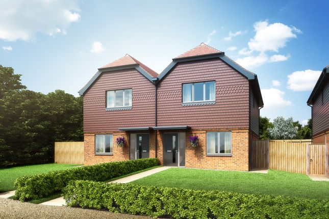 """Thumbnail Semi-detached house for sale in """"The Clydesdale"""" at Redlands Lane, Crondall, Farnham"""