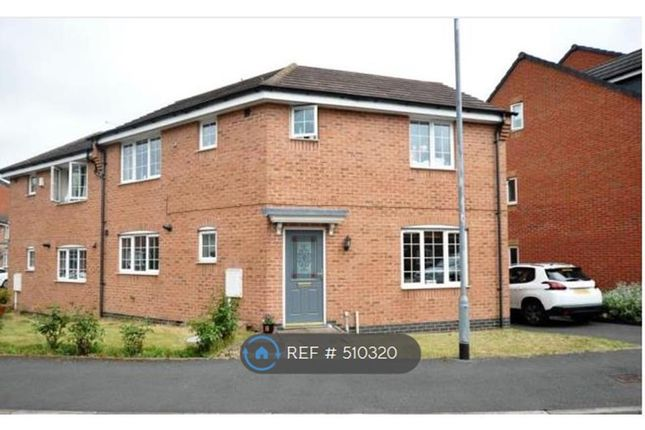 Thumbnail Semi-detached house to rent in Barker Round Way, Burton-On-Trent